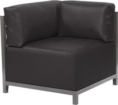 Howard Elliott Axis Atlantis Corner Chair Titanium Black - $1,389.00