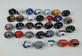 Lot 33 Riddell Miniature NFL plastic helmets 2014 Great Condition Full Set? - $37.39