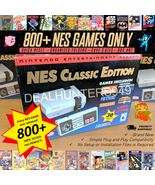 800+ NES Games Only Professionally Modded Mini Classic Nintendo Console - $219.00