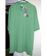 Lime Green GOLF Shirt Size XXXL Cutter & Buck NWT - $45.00