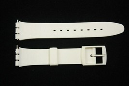 17mm Soft PVC White Replacement  Band Strap fits SWATCH watches - $9.95
