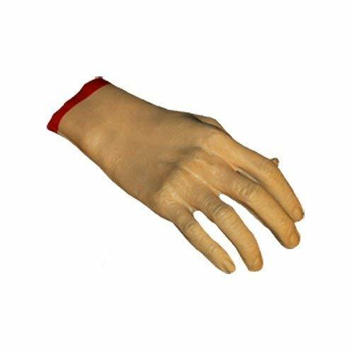 Loftus International Creepy Severed Hand Halloween Decoration Prop Pink Red Nove
