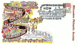 July 12, 1986 Milwaukee, Wisconsin The Great Circus Parade Celebration, ... - $9.99
