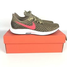 Nike Air Zoom Pegasus 35 Shoes size 8 Parachute Beige Red 942851 201 - $78.21