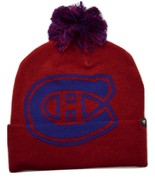 Montreal Canadiens Fanatics Iconic Logo Knit Pom NHL Hockey Beanie Winte... - $18.99