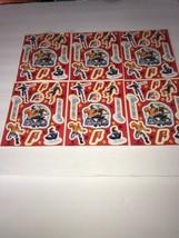 6 Fantastic 4 Sticker Sheets Marvel 2005 Fox Vintage New - $9.50
