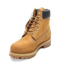 "Timberland Men's 6"" Premium Boot TB010061713 Wheat NB/Yellow SZ 7 - $149.81"