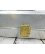 VINTAGE UMCO MODEL # 173A ALUMINUM TACKLE BOX  - $37.61