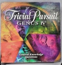 EUC 1994 Trivial Pursuit Genus IV Master Game General Knowledge Trivia Questions - $13.32