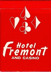 Primary image for Las Vegas fremont Hotel & Casino Playing Cards