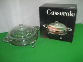 Leonard Silverplated Casserole Bowl Dish #551 A Towle Silver Co USA - $18.65