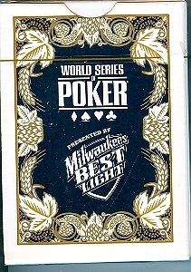Primary image for World Series of Poker MILWAUKEE'S BEST LIGHT Playing Cards  New