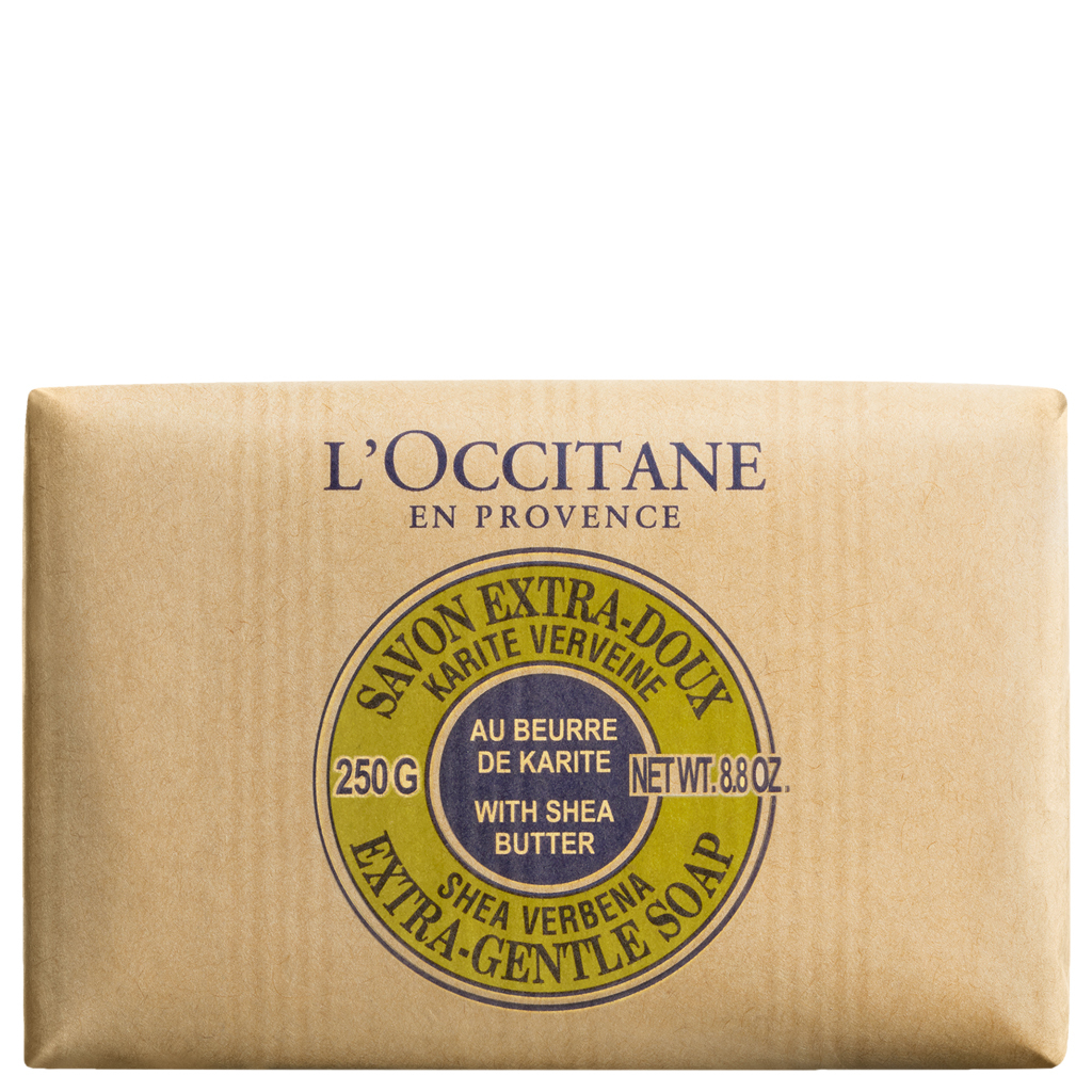 Primary image for L'Occitane Shea Butter Extra Gentle Soap Verbena 8.8 oz / 250 ml