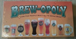 Brew-Opoly Monopoly Board Game by Late For The Sky Factory Sealed - $19.79