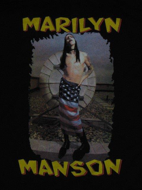 MARILYN MANSON - The Rocker- Unisex T-Shirt. Brand New