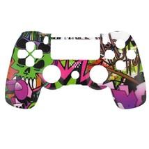 "Custom PS4 V1 Controller ""Hip Hop Grafitti"" Front Shell (Matte Finish) - $12.49"