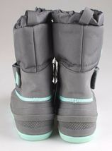 Cat & Jack Boys Kids Youth Gray Cordie Thermolite Insulation Winter Boots image 4