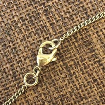 AUTH CHANEL GOLD BLACK CC PENDANT PEARL CC NECKLACE CLASSIC  image 5