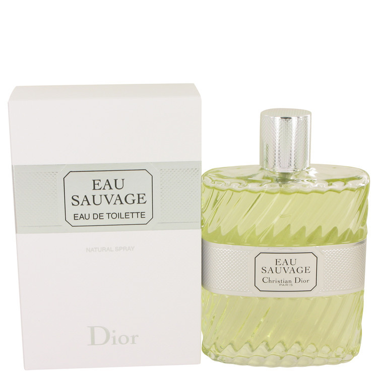 Christian Dior Eau Sauvage Cologne 6.8 Oz Eau De Toilette Spray