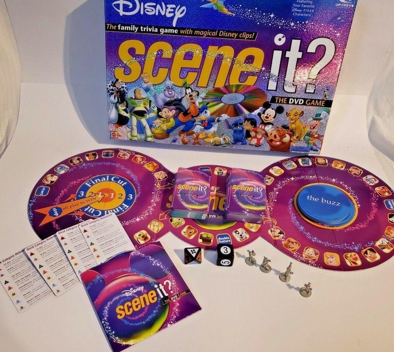 Disney Scene It! The DVD Game 1st Edition 2004 Mattel Pixar Characters!!!! image 3