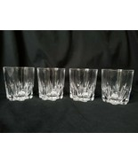 Whiskey Old Fashioned Glasses 7 Tooth Cog Shaped Weighted Bottom Nice Ha... - $46.50