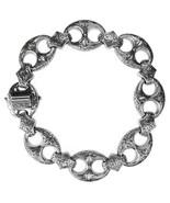 Gerochristo 6267 -  Solid Sterling Silver Medieval Byzantine Bracelet  - $920.00