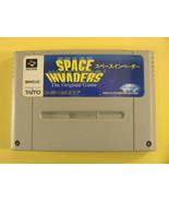 Space Invaders (Nintendo Super Famicom SNES SFC, 1994) Japan Import - $4.53