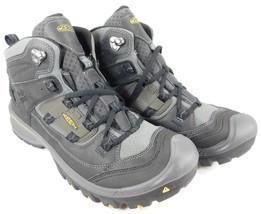 Keen Logan Mid Top Size: US 11.5 M (D) EU 45 Men's Hiking Boots Black 1014004