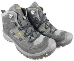 Keen Logan Mid Top Size: US 11.5 M (D) EU 45 Men's Hiking Boots Black 10... - €104,52 EUR