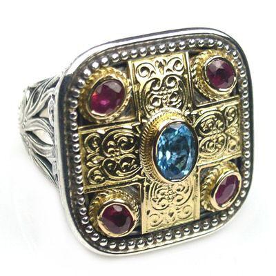 02002440 gerochristo 2440 medieval byzantine ring 1