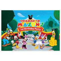 Mickey Mouse Clubhouse Birthday Banner Personal... - $22.50 - $42.50
