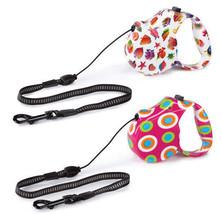 Guardian Gear Boardwalk Retractable Dog Lead Nylon Leash Fun Fish or Mod... - $9.35