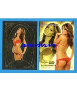 Jessica Burciaga 2007 Bench Warmer Gold Rookie Silver Parallel Card #66 - $8.00