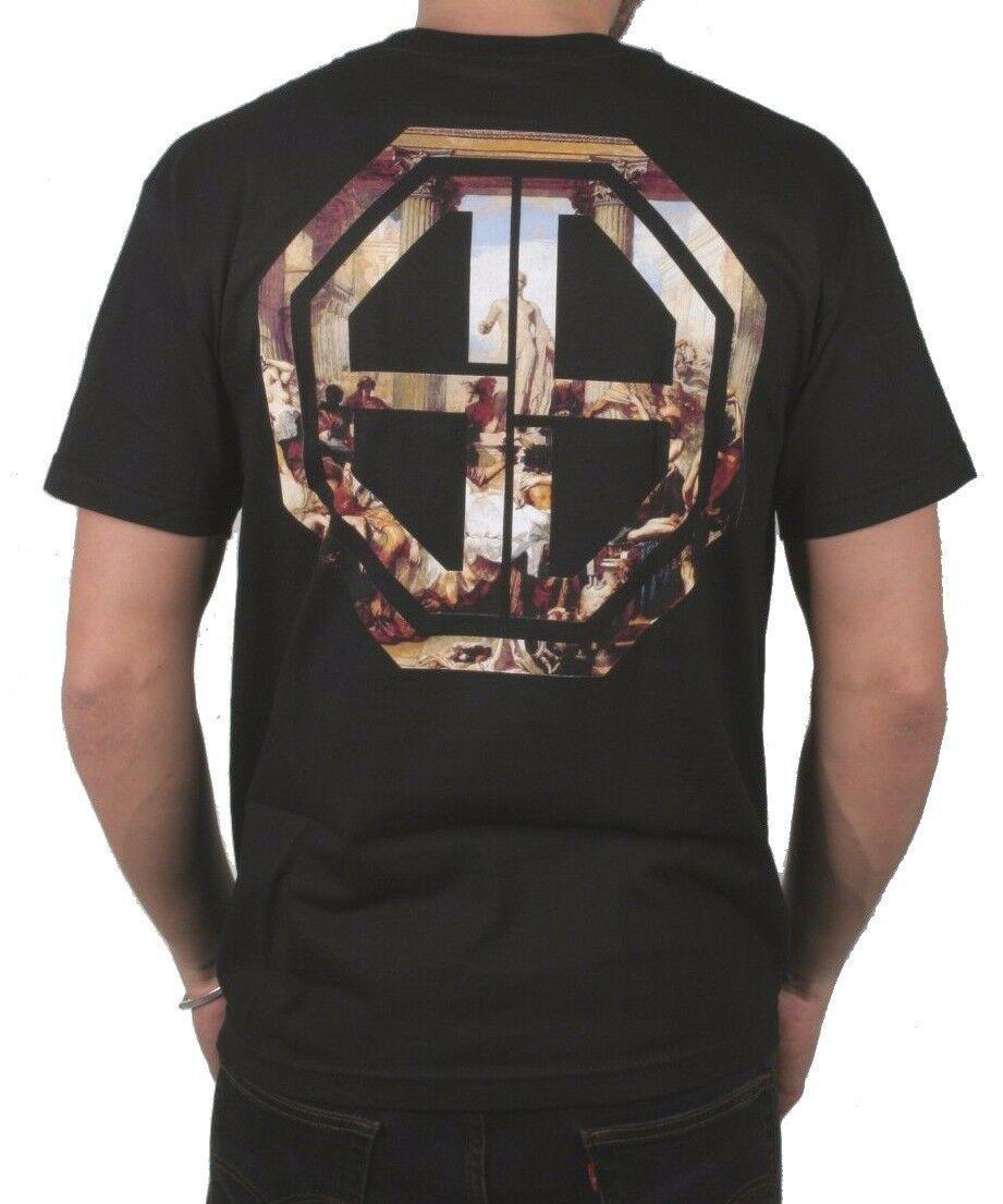 CLSC Mens Orgy Classic Black mens Ancient Rome Orgies Graphic Print T-Shirt NWT