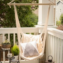 Garden Swing Chair Padded Cotton Use Indoors or Outdoor - $43.95