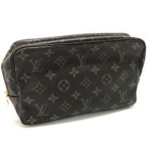 AUTHENTIC LOUIS VUITTON Monogram Trousse Toilette 23 Cosmetics Pouch Bag... - $220.00