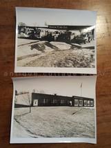 LOT  1950s antique 2 NORCO FIRE CO PHOTOGRAPHS pottstown pa ENGINES TRUC... - $34.95