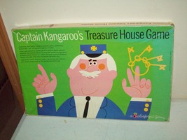 Vintage Colorforms Captain Kangaroo's treasure hunt game RARE 1961 Color... - $19.80