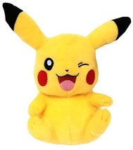 8 Inch Officially Licensed Winking Pikachu Pokemon Plush with Tags - $39.95