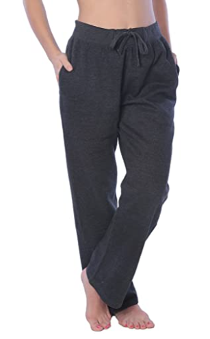Beverly Rock Woman Drawstring Pocket Sweatpants, CHARCOAL GREY , 1X NEW W/TAGS