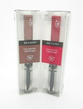 Revlon ColorStay Overtime 16 Hrs Lipcolor Red & Brown #480 #320 Faithful Fawn - $15.99