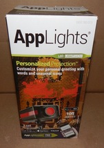 AppLights LightShow Holiday Projector Personalized Message IPhone & Andr... - $32.49