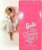 Barbie as the Swan Queen In Swan Lake Porcelain Ornament 1998 Avon - £12.21 GBP