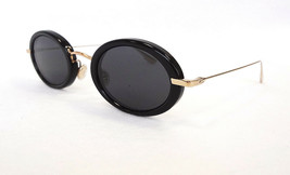 Dior Women's Sunglasses HYPNOTIC2 02M2 Black/Gold Metal 145 MADE IN ITAL... - $199.95