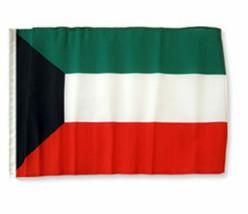 "12x18 12""x18"" Kuwait Sleeve Flag Boat Car Garden - $6.88"