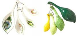 Anthropologie Tea Leaves Measuring Spoons Green Wedding Hostess Shower M... - £24.92 GBP