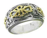 02002729 gerochristo 2729 byzantine medieval ornate band ring 1 thumb155 crop