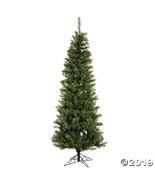 Vickerman 5.5' Salem Pencil Pine Christmas Tree with Clear Lights - $140.25