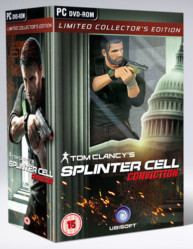 Primary image for Tom Clancy`s Splinter Cell Conviction Collectors Edition PC