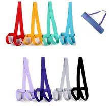 Mat Yoga Belt Strap Fitness Exercises Adjustable Shoulder Carrier Gym Sp... - $191,03 MXN